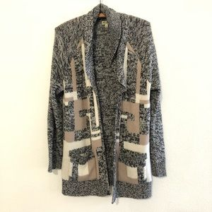 14th & Union Long Sleeve Duster Cardigan Sweater